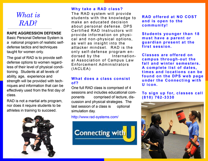 RAD Self Defense Training